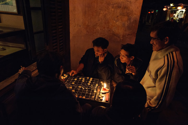 Hội An Men Playing XiangQi