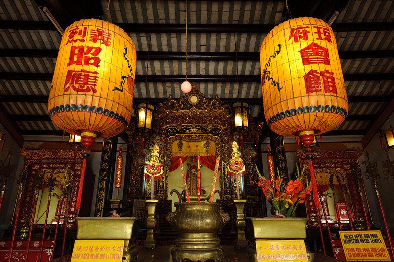 Hai Nam Assembly Hall Altar