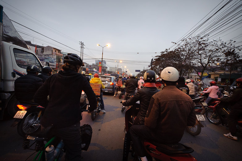 Hellish Ride to Hanoi's Bus Station