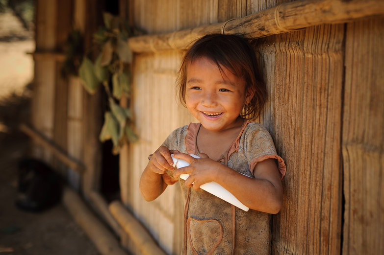 Cute Little Lao Girl