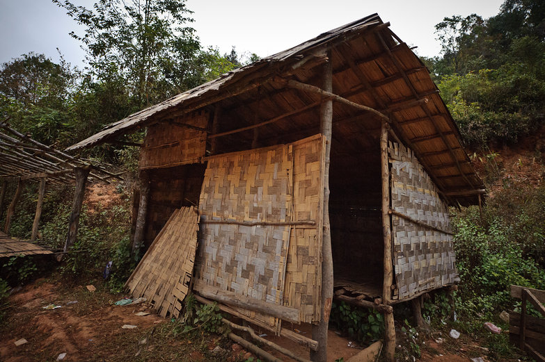 Our Home For the Night (Free Camping in Lao)