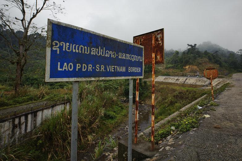 Vietnam - Lao Border Crossing