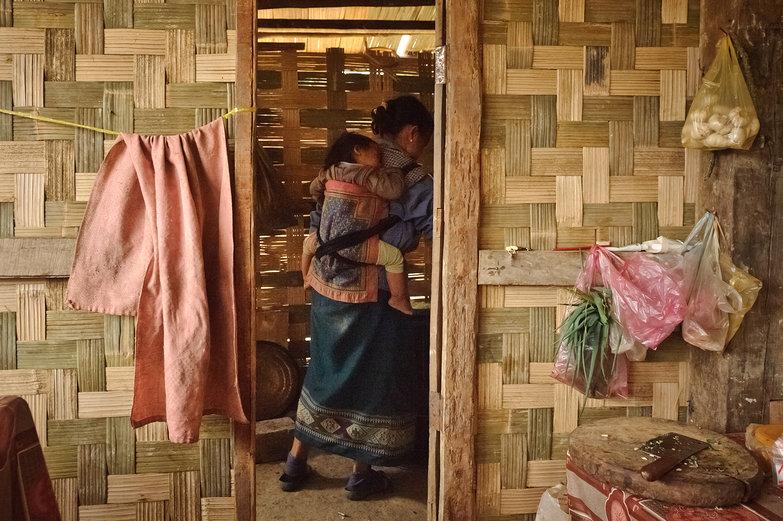 Lao Mama & Baby