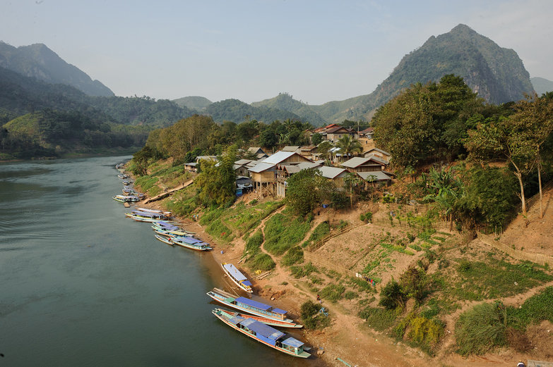 Lao Mountain River View