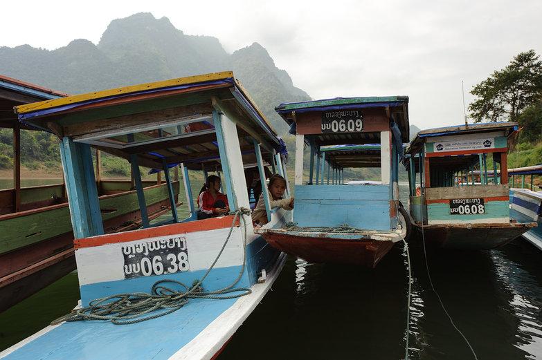 Muong Ngoi Boats