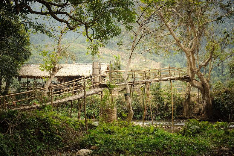 Muang Ngoi Bridge