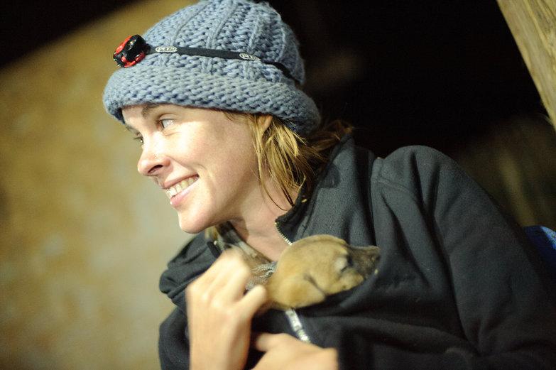 Natasha & Puppy