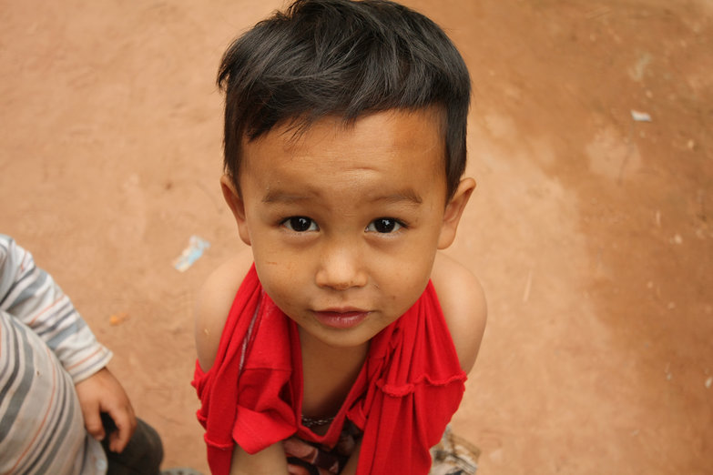 Cute Little Lao Boy