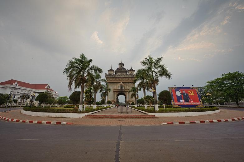 Vientiane Roundabout