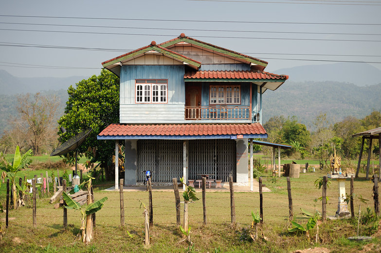 Blue Lao House