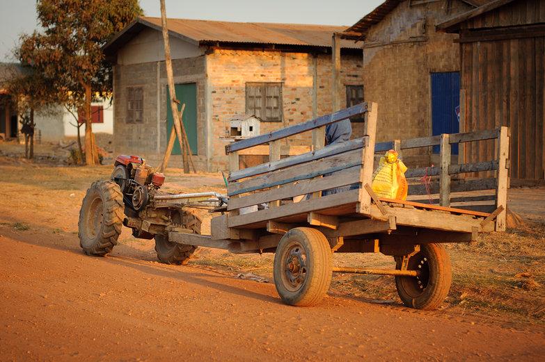 Lao Tractor