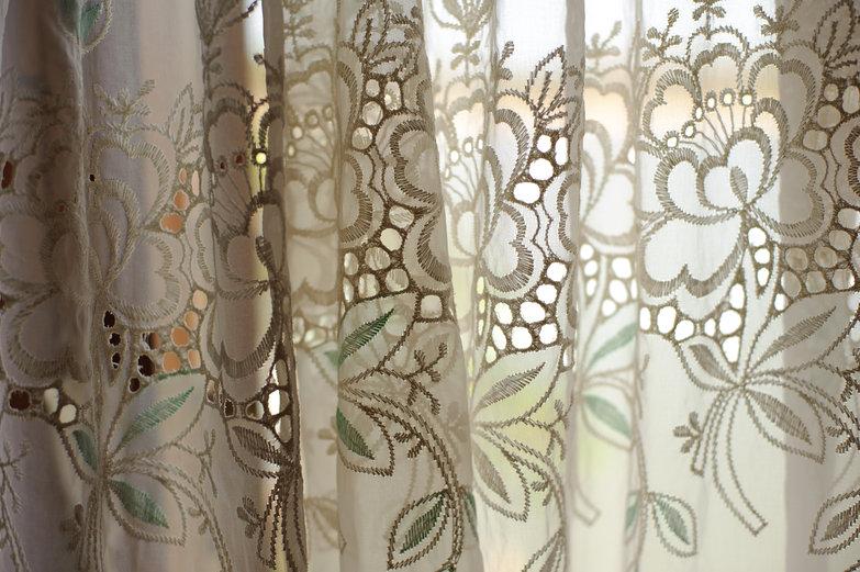 Breezy Lace Curtains
