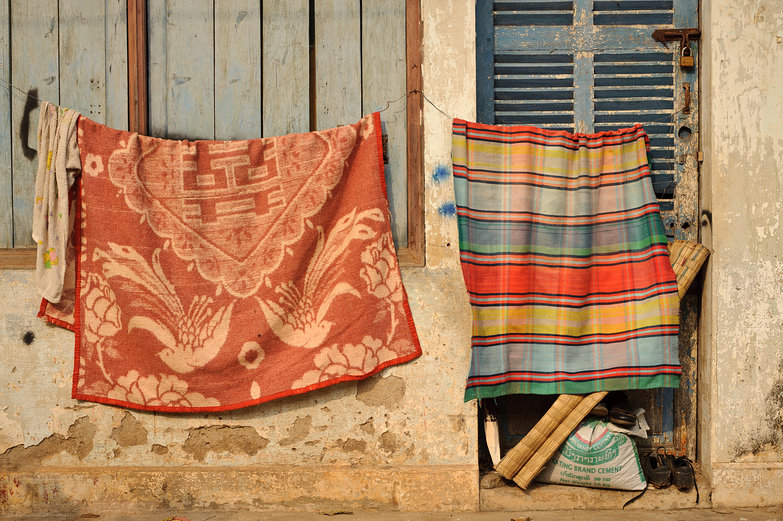 Savannakhet Laundry Drying