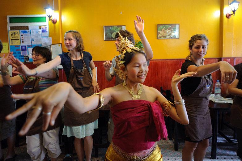 May Kaidee Teaching Dance