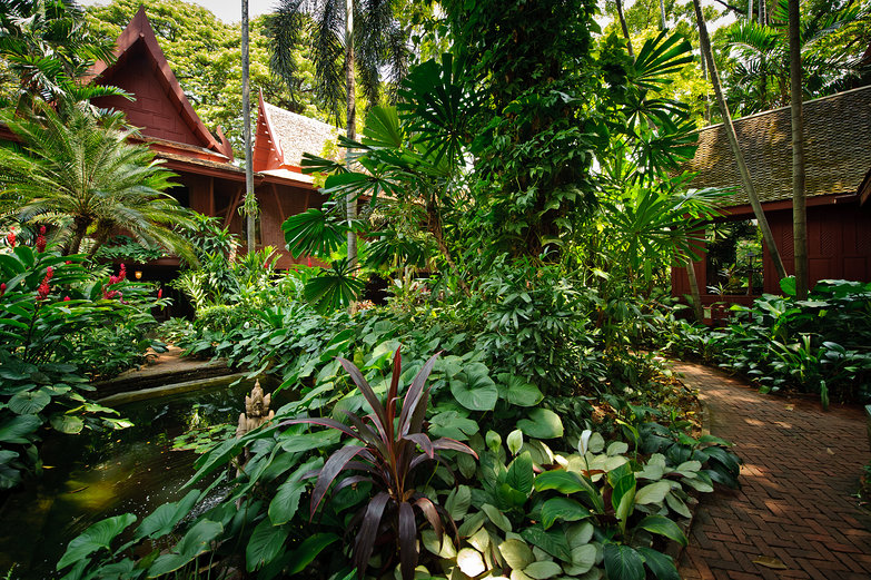 Jim Thompson's House Grounds