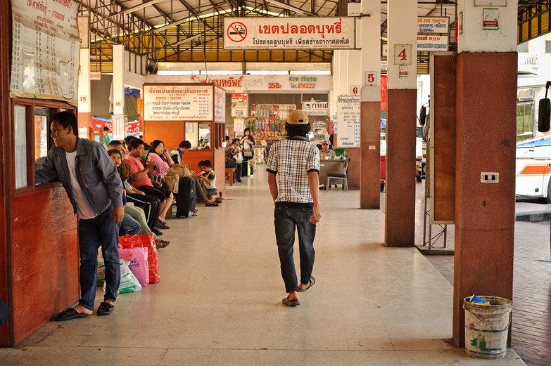 Mukdahan Bus Station, Thailand