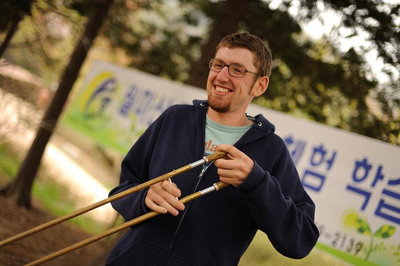 Jesse & His Travel Trombone