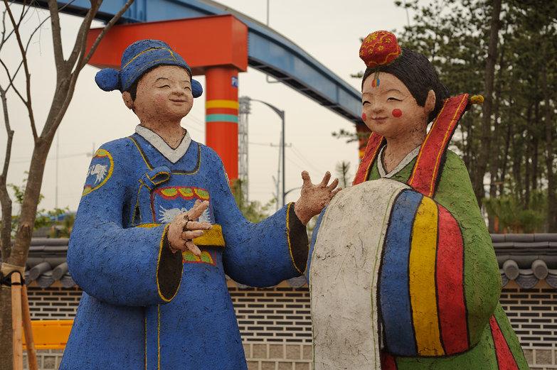 Korean Statues