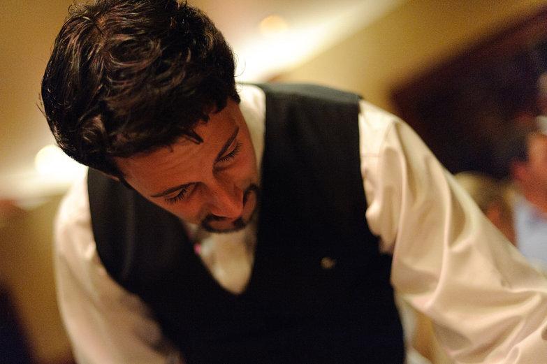 Debonair Chez Panisse Waiter
