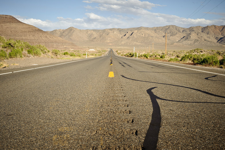 Loneliest Road, Nevada