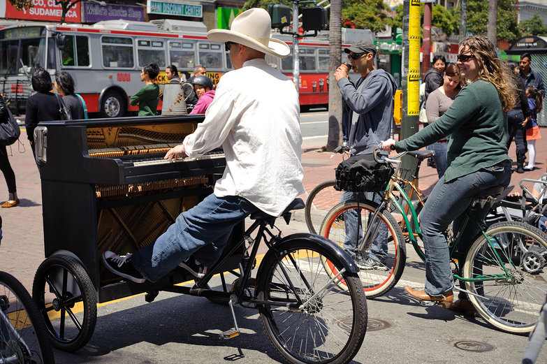 Piano Bicycle