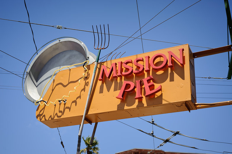 Mission Pie Sign
