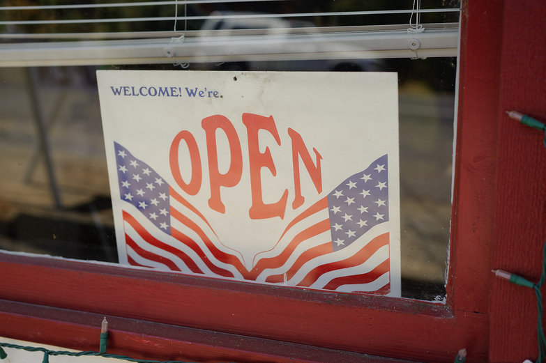 Welcome!  We're Open