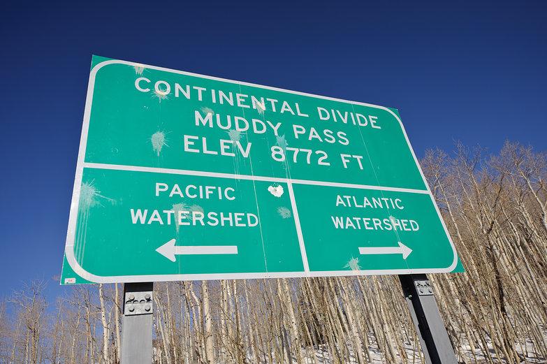 Continental Divide @ Muddy Pass