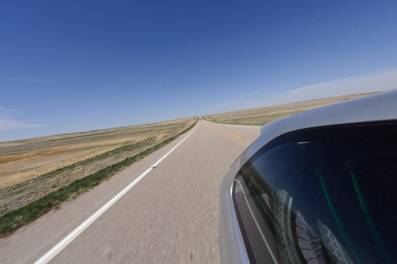 Flat Eastern Colorado Road