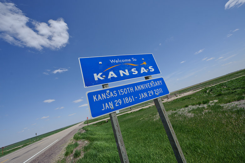 Welcome to Kansas Sign