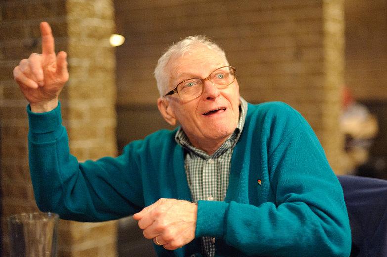 Grandpa Telling a Story
