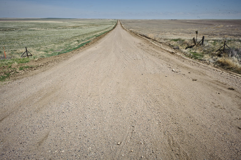 Dusty Eastern Colorado Road
