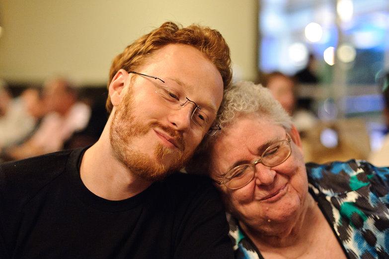 Tyler & Grandma Marilyn