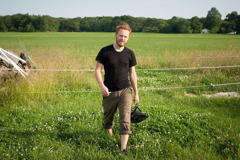 Tyler at Prairie Fruits Farm