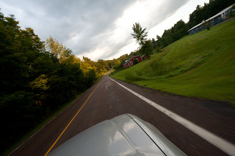 Driving in Vermont