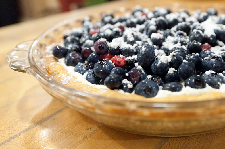 Fresh Berry Marscapone Tart