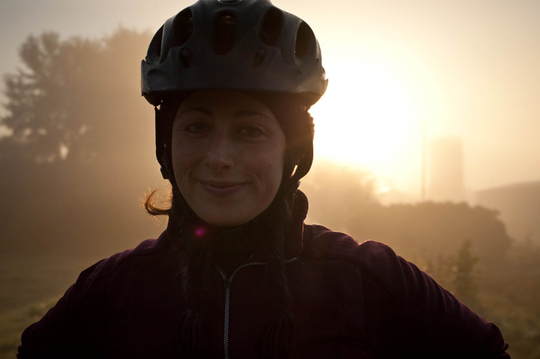 Tara on Misty Morning Ride