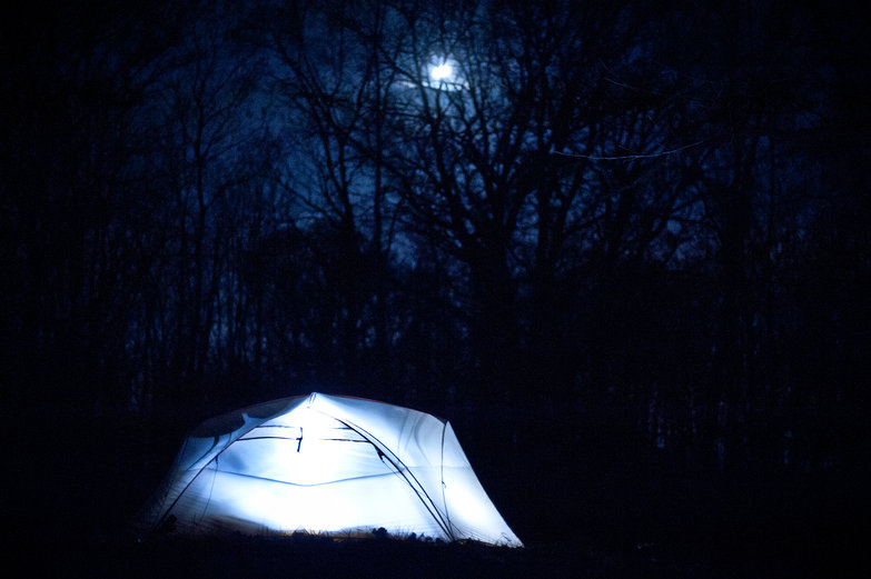Our Tent In the Woods, Under the Moon