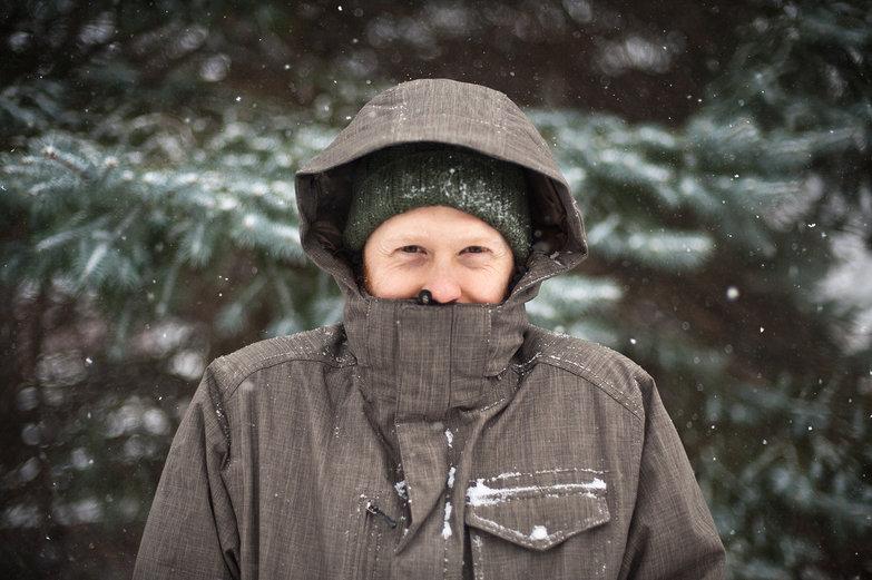 Tyler in the Snow