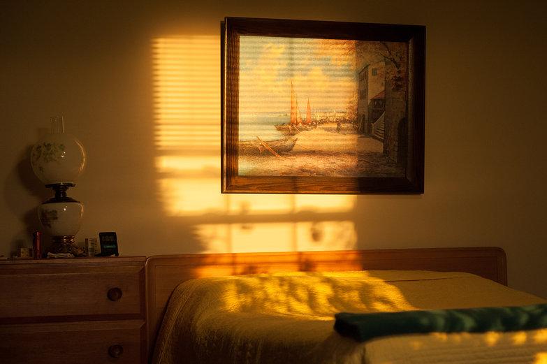Grandma's Sunny Bedroom