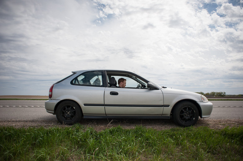 Our Car in North Dakota