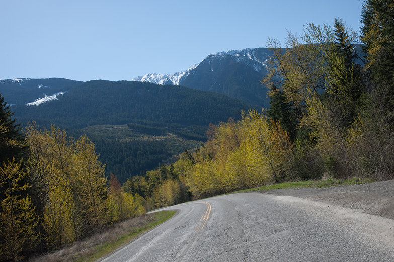 Sea To Sky Highway Landscape