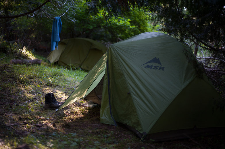 Tents at Evening Camp