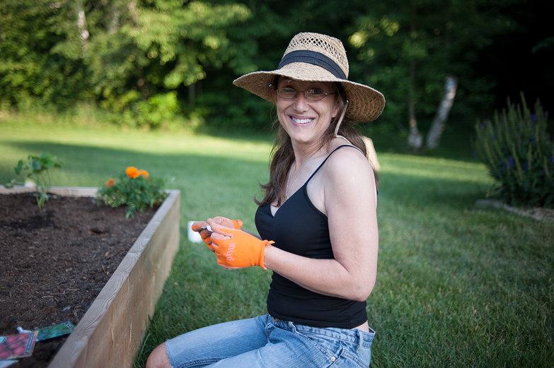 Tyler's Mom (Jodi) Gardening