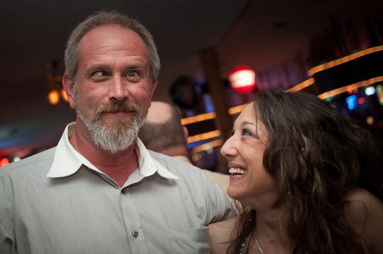 Mike & Jodi Goofing Around