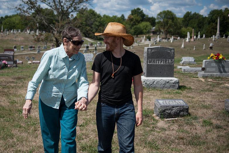 Grandma Jeanne & Tyler