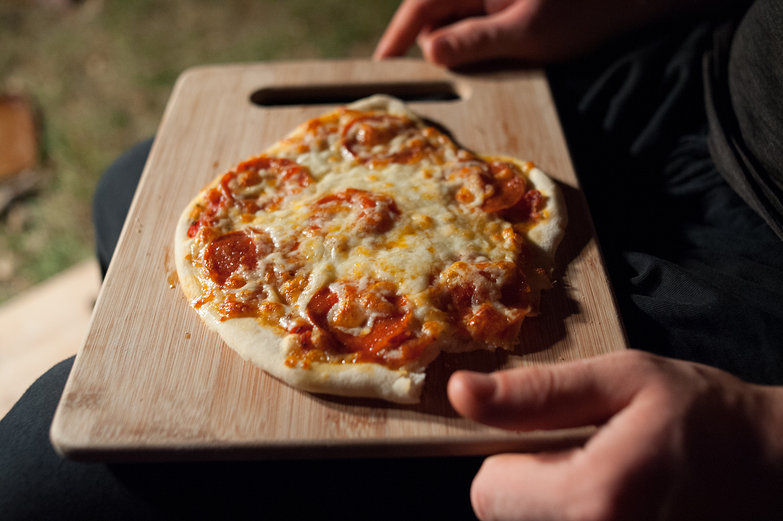 Earthen Oven-Baked Pizza