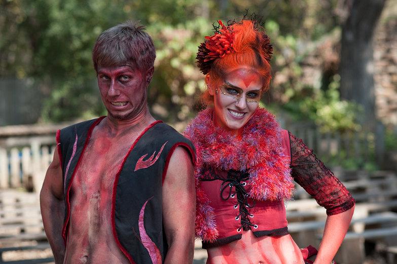 Fiery Fairy Couple at the Minnesota Renaissance Festival