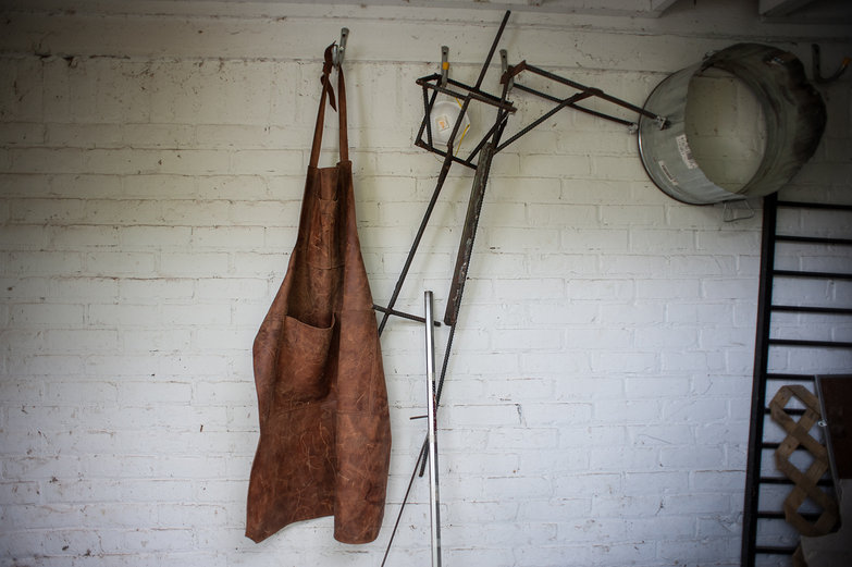 Tim Sefton's Leather Apron