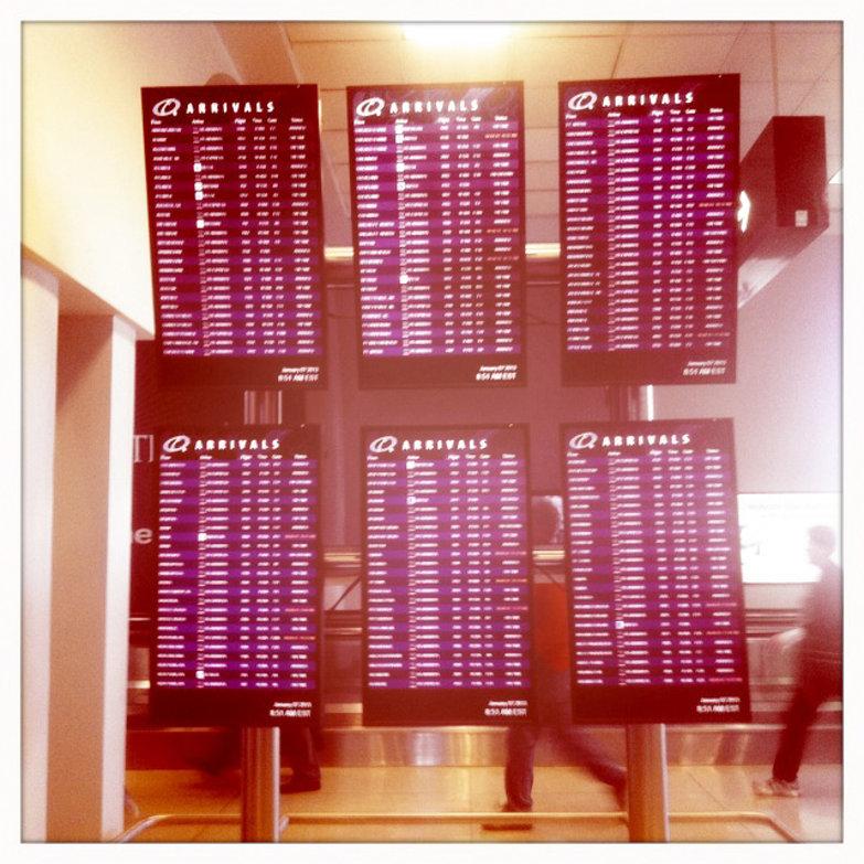 Airport Flight Monitors